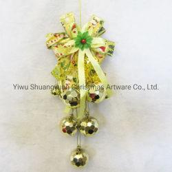El oro de la Navidad Adornos de Navidad de Bell, Bell, la decoración de Navidad