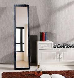 Europese moderne badkamer Salon Floor Full Length Dressing Mirror LED Make-upspiegel