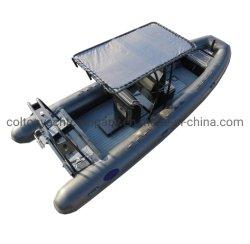 Imbarcazione a motore ad alta velocità della barca di sport della barca dell'orca di Hypalon della barca del traghetto della nave di soccorso marina gonfiabile della nervatura