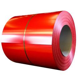 للتشييد Customed S220gd+Z، S250gd+Z، S280gd+Z، S320gd+Z، S350gd+Z Ral قياسي اللون مسبق الطلاء شريط/ملف فولاذ مجلفن