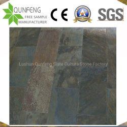 부식 저항 제산성 중국 자연적인 돌 도와 녹스는 슬레이트 포장