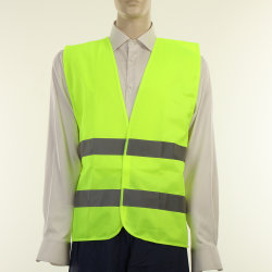 Visibility Elevado Safety Traffic Reflective Vest com CE (JMC-211A)