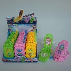 Téléphone mobile avec des bonbons jouets dans les jouets avec la Sucrerie de la Chine de bonbons