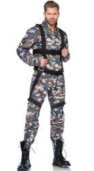 Halloween 섹시한 란제리 복장 마스코트 성숙한 공상 복장 당 공급 사육제 Mens 군은 장식 못 복장에 대항한다