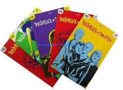Anzeigen-Comic-Bücher der Größen-A5 passten Größe gedruckten Lieferanten Firmenzeichenzhuhai-Hersteller Soem-China in der Fabrik-Preis-guten Qualität an