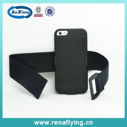 Comercio al por mayor deporte Arm-Band Teléfono Combo Funda para iPhone 5