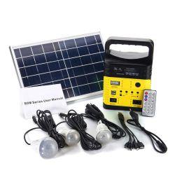 Lumière solaire radio LED nouvelles conceptions système d'éclairage solaire maison