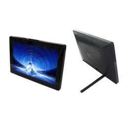 Usine de gros de l'écran LCD 10,1 pouces lecteur portable d'affichage de la publicité Mini cadre photo numérique permanent pour Business Bank