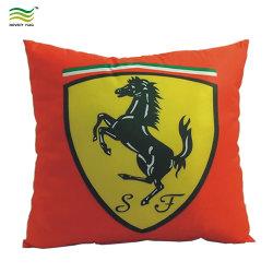 Het Kussen van de Auto van Kerstmis van Ferrari van het Af:drukken van het Embleem van de Douane van de Polyester van 100%