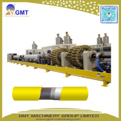 Gspe-G 50-800mm UHMW PET Stahldraht-verstärkter verdrehter Rohr-Strangpresßling-Produktionszweig