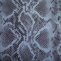 Pattern Snakeskin cuir artificiel & Leatheroid pour vêtements en tissu