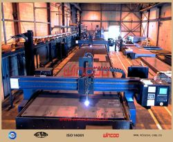 CNC 불꽃/스트립 산소 절단 기계/강철 제작 장비