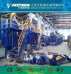 Loossing película de material de reciclaje de plástico bolsas de baja velocidad arandela de fricción maquinaria