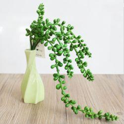 Casa Decoração de flores artificiais de Seda Fake Plantas suculentas