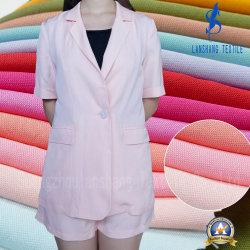 18%Tencel 9%Linen 18%Rayon 51%Viscose per il vestito di vestito