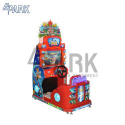 Divertente tutto il gioco del parco di divertimenti della vettura da corsa delle stelle con uno schermo da 22 pollici