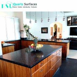 Кристаллический кварц камень кухня столешницами с фиолетового цвета металла