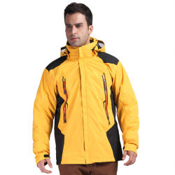 Горячая продажа Зимой открытый теплой одежды мужчин Fatten шторм до горнолыжных скалолазание костюмы куртка