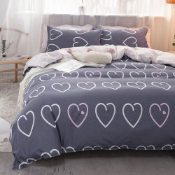 Textil Hogar Nantong fabricación impreso 80 GSM Microfibra poliéster conjunto de ropa de cama