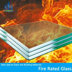 Venta caliente claro ignífuga cable de seguridad templado con cable de arte el panel de vidrio para la venta de referencia de Fob