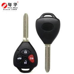 100%の元のモデル2 3つの4つのボタンのToyota Corolla CamryのマトリックスYaris RAV4主Toy43のための遠隔置換車のキーのブランク車のキーのシェル