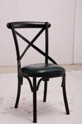 بالجملة [دين رووم] متعدّد لون صليب ظهر أسود كرسي تثبيت قابل للتراكم بلاستيكيّة مع سعر جيّدة