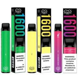 1600パフの使い捨て可能なVapeのペンEの液体のポッドのVaperの蒸気パフXXLの蒸発器の電子タバコ