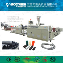 De petit diamètre tuyau unique PE Plastique double ligne de production / Making Machine / Ligne d'Extrusion