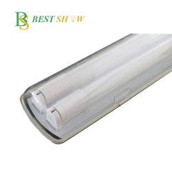 Il coperchio glassato IP65 impermeabilizza la luce del tubo della Tri-Prova del LED di il lotto di posizione