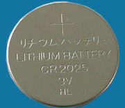 3V Micro Cell Lithium Cr2025 Battery