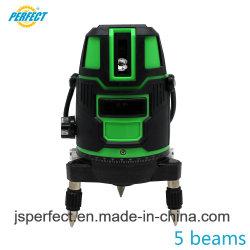 Contactor rotativo 360 Nível Laser Digital multiuso 5 Linha Verde