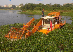 중국 제조자 공급은 물 잔디 또는 위드 또는 플랜트 수확기를 모은다