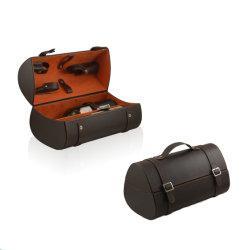 Élégante Bouteille de vin en cuir personnalisé Multi Box (5251R12)