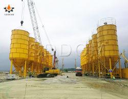 Tanque de Almacenamiento de polvo de 50 toneladas de cemento tipo atornillado silo