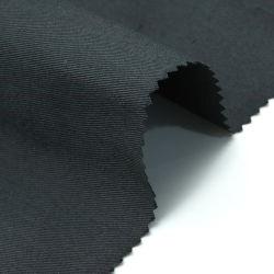 Esticar o tecido das calças 128*60 licra de densidade de tecido de algodão Sarjado Stretch Tecido acetinado para vestir