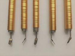 Cer und FDA-gebilligtes schwarzer Diamant-chirurgisches Messer und Titan-Griff