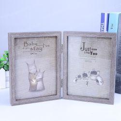 Het hete Verkopende Houten Frame van de Foto van het Beeld voor het Beeld van de Vertoning