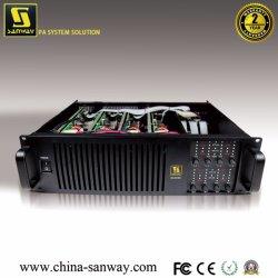 Da5008 amplificador de potencia digital de Canal 8, 8x500W a 8 ohmios; 8x900W a 4 Ohms amplificador de audio profesional