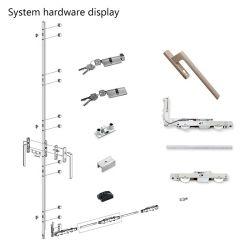 Accessoires voor hardware van heavy duty Lift en schuifdeur Systeembelading 250 kg