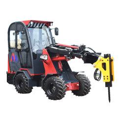 CE 소형/미니 4WD 프론트 엔드 로더 1톤/1.5톤/2톤 휠 로더 첨부 파일 있음