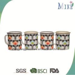 El esmalte de porcelana taza taza taza de café de cerámica de viaje para sublimación