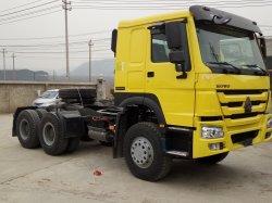 頑丈な使用されたSinotruck HOWO 6X2 6X4 371HP 420HPのトレーラートラックヘッドトラック