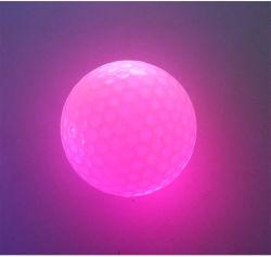 Mini parpadear el LED Bola de Golf bolas de golf por la noche