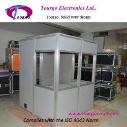 Cabina portatile dell'interpretatore di Tourgo, interpretazione di congresso