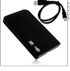 알루미늄 USB 3.0 SATA 외부 2.5 HDD 울안 하드 디스크 상자 Screwless