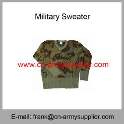 De in het groot Goedkope Sweater van de Politie van de Wol van het Leger van de Camouflage van China Militaire Digitale