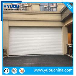 Liga de Alumínio Motorizado Automático Industrial do Rolete superior da porta do obturador para garagem de armazém