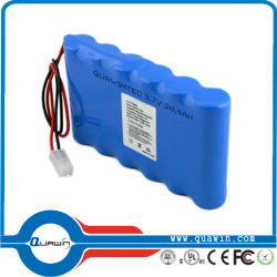 Commerce de gros ! 14,8 V 2900mAh Batterie rechargeable Batterie lanterne à LED