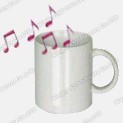 Tazza registrabile, tazza promozionale, tazza di ceramica, tazza di musica