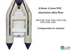 Bote hinchable/ Costilla /barco pesquero /bote de rescate y la velocidad de barco
